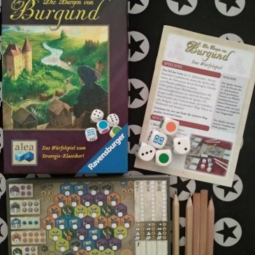 Hoy Jugamos a: The Castles of Burgundy: The Dice Game