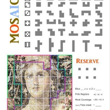 Print and Play: Mosaic