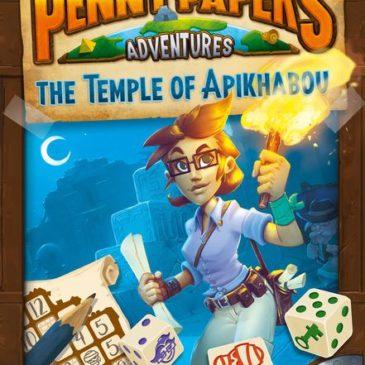 Penny Papers Adventures El Templo de Apikhabou