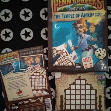 Hoy jugamos a: Penny Papers Adventures: El Templo de Apikhabou