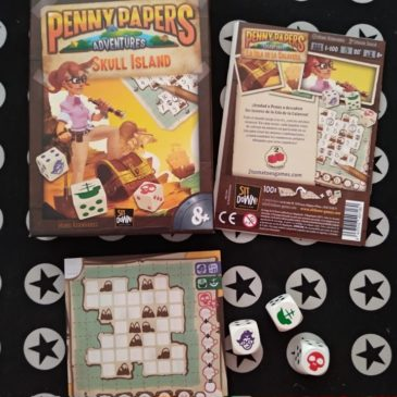 Hoy Jugamos a: Penny Papers Adventures: Skull Island