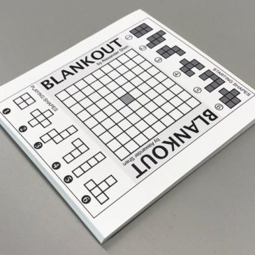 Print and Play: Blankout