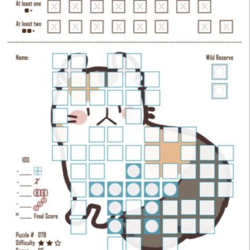 Print and Play: Cat Sudoku