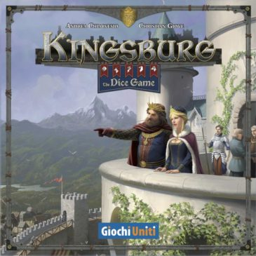 Novedad 2019: Kingsburg: The Dice Game