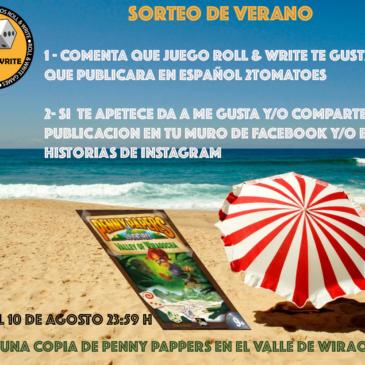 Sorteo de Verano: Penny Papers en el Valle de Wiraqocha.