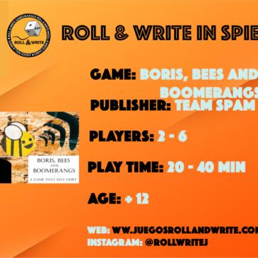 Spiel '19: Boris, Bees and Boomerangs