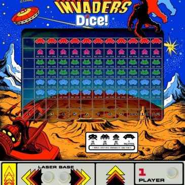 Remake: Space Invaders Dice!