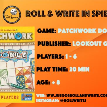 Spiel '19: Patchwork Doodle