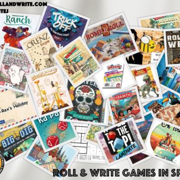 Video: Roll & Write en Spiel 19 Essen