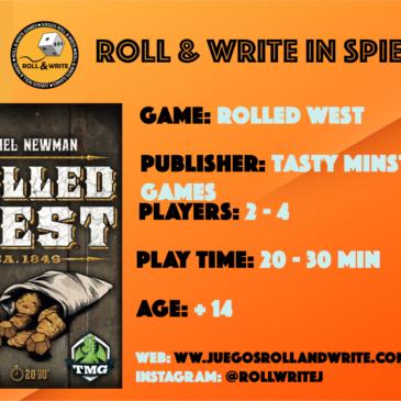Spiel '19: Rolled West