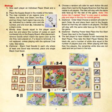 Reglas: SteamRollers