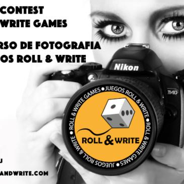 Concurso de Fotografía de Juegos Roll & Write
