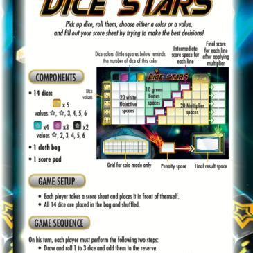 Reglas: Dice Stars