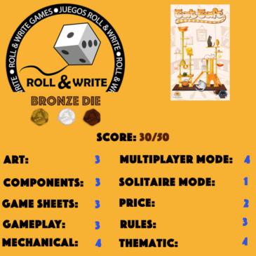 Sellos Juegos Roll & Write: Cat Cafe