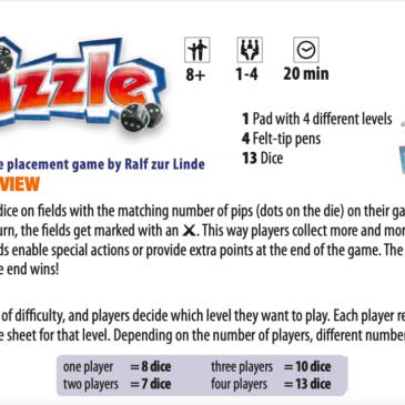 Reglas: Dizzle