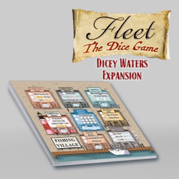 Novedades 2020: Fleet: The Dice Game – Dicey Waters Expansion
