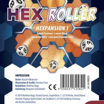Novedades 2020: HexRoller Hexpansion 1