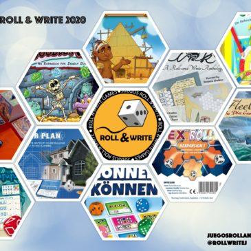 Videos: Novedades Juegos Roll & Write 2020 – Parte 1
