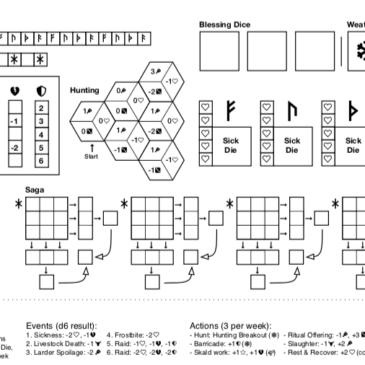 Print and Play: Skadi