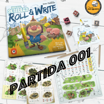 Videos: Colonos del Imperio Roll & Write Partida 001
