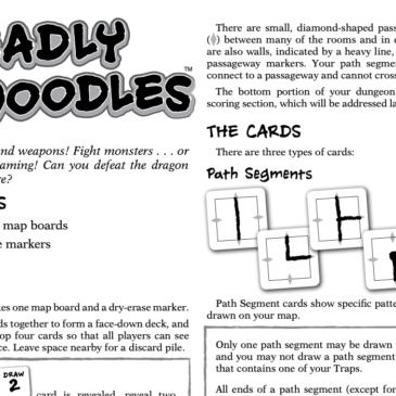 Reglas: Deadly Doodles