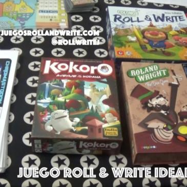 Videos: El juego ideal Roll & Write – 10 Cosas Importantes y algunos extras