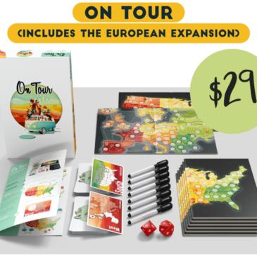 Kickstarter : On Tour + Expansión Europa