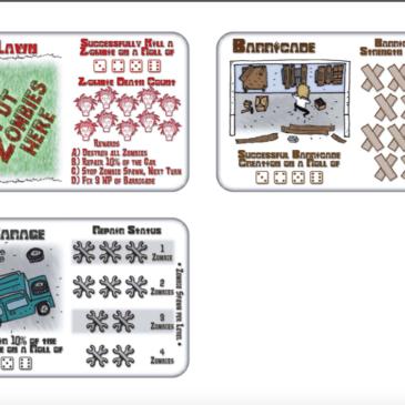 Print and Play: Escape Of The Dead versión con cartas.