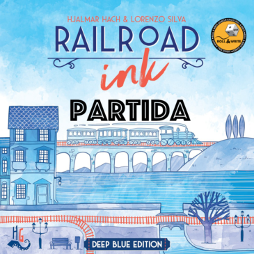 Videos: RailRoad Ink Azul Partida