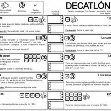 Print and Play: Reiner Knizia's Decathlon