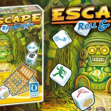 Kickstarter: Escape Roll & Write