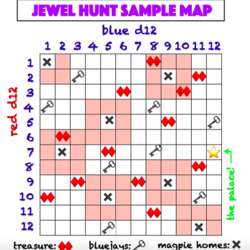 Print and Play: Jewel Hunt