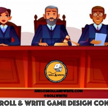Novedades 2020: Jurado del 4º Concurso de Diseño de Juegos Roll & Write en la BGG