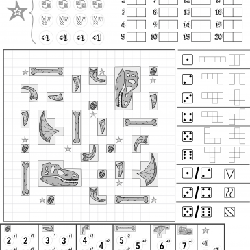 Print and Play: Paleontogists