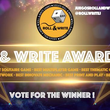Roll & Write Awards 2019