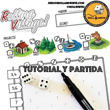 Videos: Rolling Village! – Como se juega y Partida