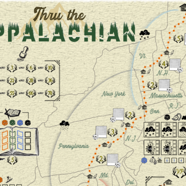 Print and Play: Thru the Appalachian