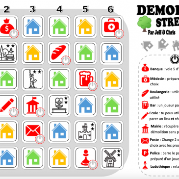 Print and Play: Demolition Street