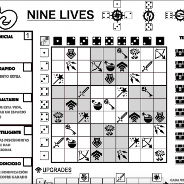 Print and Play: Nine Lives: Rogue and Write