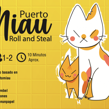 Print and Play: Puerto Miau Roll and Steal
