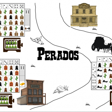 Print and Play: Perados, Le Roll and Write