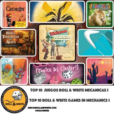 Top 10 Juegos Roll & Write con mejores Temáticas – Parte 1