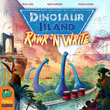 Novedades 2021: Dinosaur Island: Rawr 'n Write