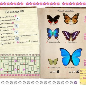 Print and Play: Entomology 101