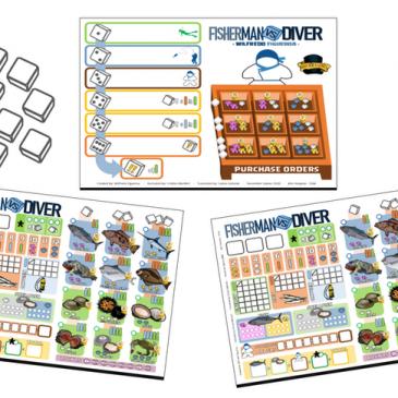 Kickstarter: Fisherman vs Diver – Nuevas Expansiones
