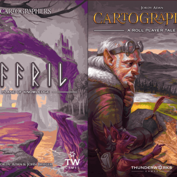 Novedades 2020: Cartographers Map Pack 2: Affril – Plane of Knowledge