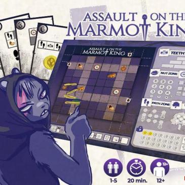 Kickstarter: El Asalto Del Rey Marmota