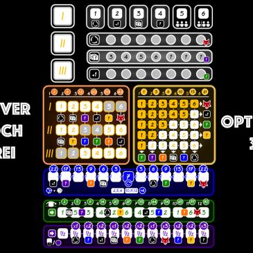 Hojas de Juego: Optimus 3 – Clever Hoch Drei