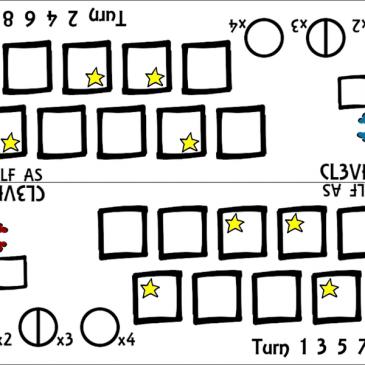 Print and Play: Half as Clever ( Vas de Listo)