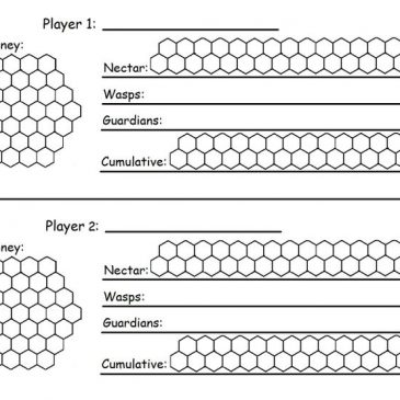 Print and Play: Honey & Nectar